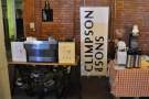 First stop on my Sunday afternoon, the Climpson & Sons stand...