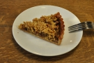 I also helped myself to a slice of the excellent caramel apple crumble tart.