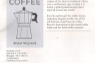 ... and look what was on the first page! It's my book, The Philosophy of Coffee!