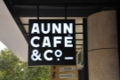 In case you hadn't guessed it, this is AUNN Cafe, although it's more than just a cafe...