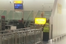 I did visit the oversized bag drop though: I've been spoilt flying from modern terminals!