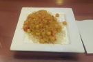 I went for a (spciy) chickpea curry, which turned out to be the best airport food I've had.