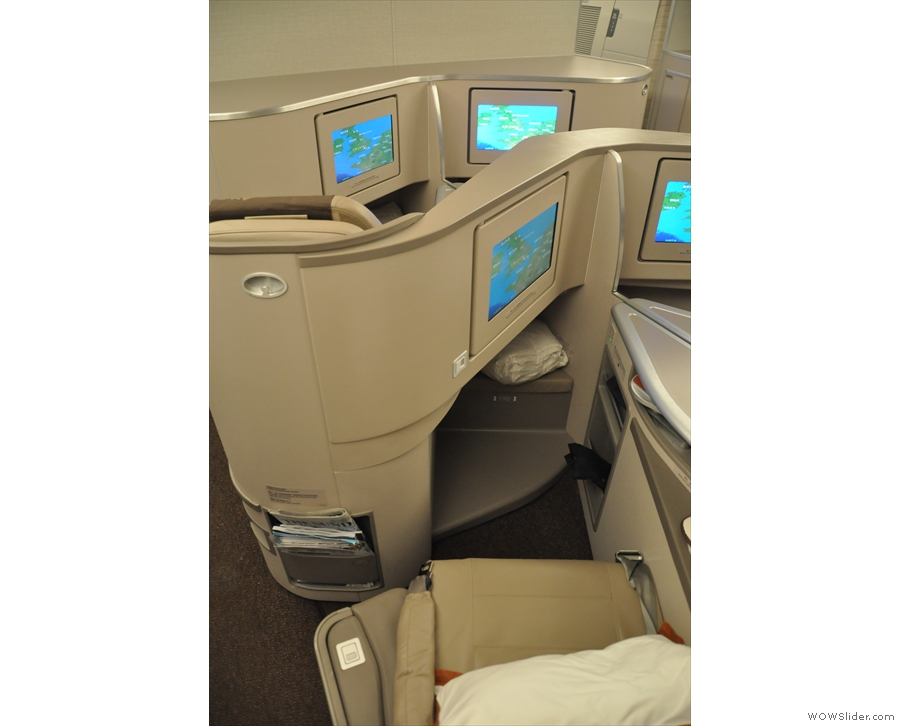 My seat in all its glory, very similar to the Vietnamese Airlines Boeing 787.