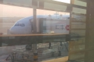 The only shot I could get of my China Eastern Boeing 777-300ER: on stand in Shanghai.
