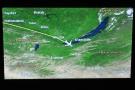 I woke over southern Siberia, having just passed Irkutsk and flown over Lake Baikal.