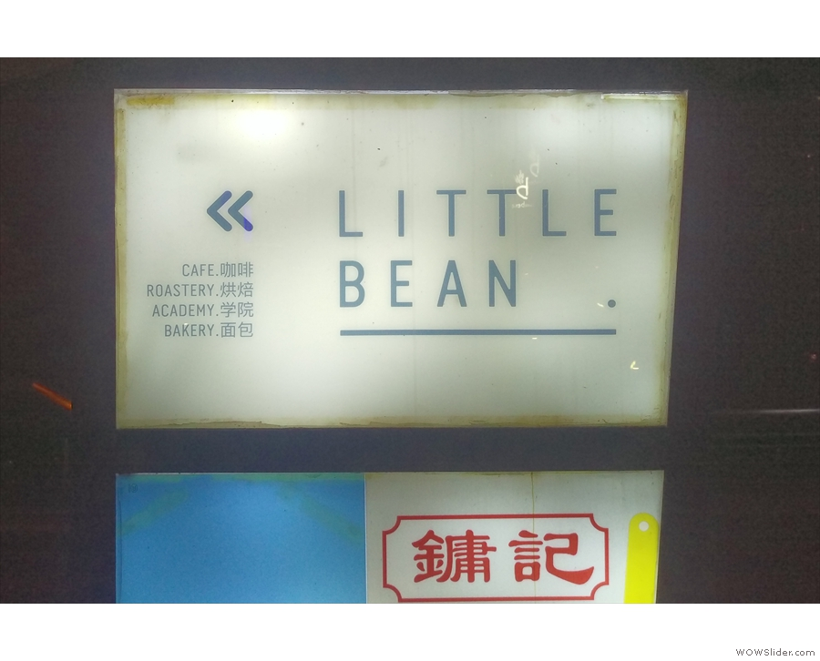 In case you haven't guessed, it's Little Bean: Cafe, Roastery, Academy, Bakery.