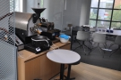 Finally, there's a samlpe roaster, tucked away in the corner, with an office beyond that.