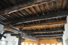 Before we go back downstairs, don't forget to check out the amazing ceiling beams.