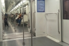 Saturday morning, Line 2, Shanghai Metro. First time I've had a seat in ages!