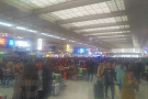 Here's the vast departures hall. Apologies for poor quality photos: I was rushing for a train.