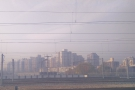 The journey is approaching its end: my first view of Beijing.