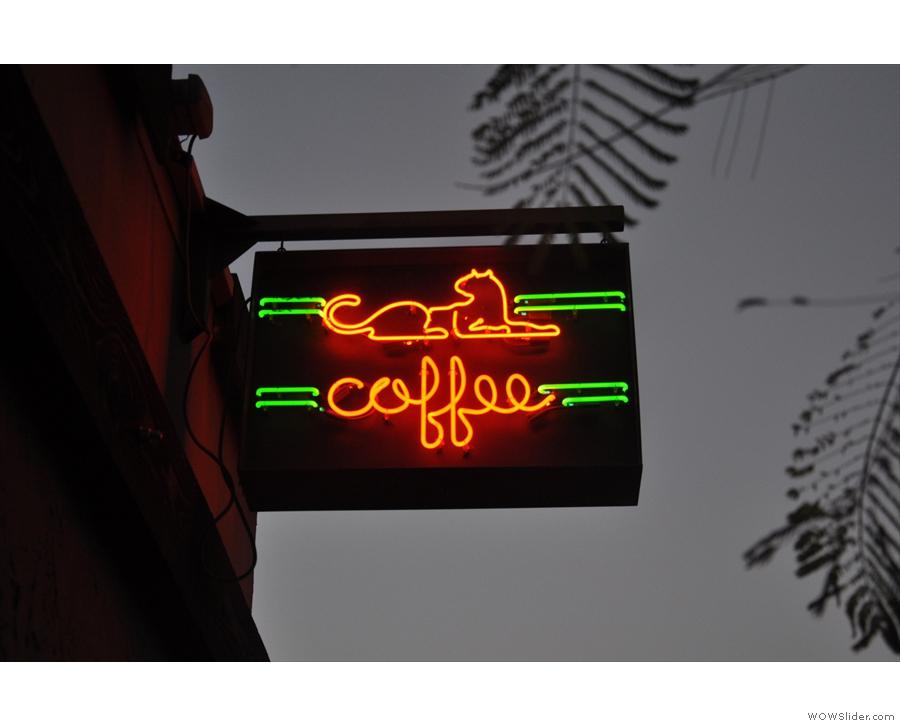 November: Panther Coffee, Wynwood, in Miami.