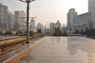 ... with a view of Shanghai. Time for me to explore!