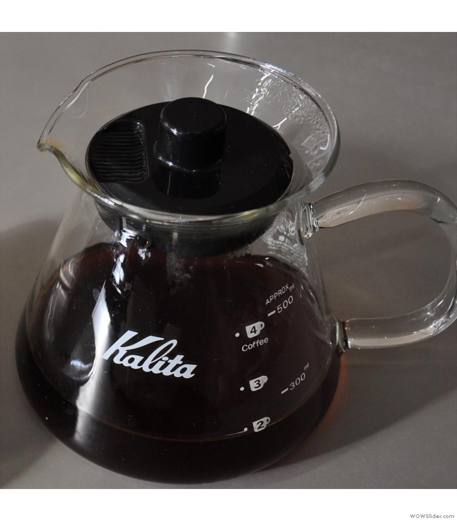 Allpress Dalston did me a very fine coffee to go.