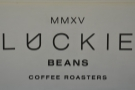 Luckie Beans, direct from the roaster on Glasgow's Queen Street station concourse.