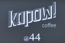Kapow Coffee, The Calls, down by the river in Leeds.