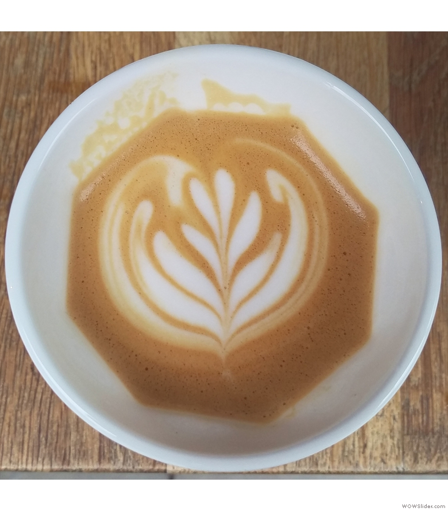 However, Craft Coffee is right outside King's Cross on Battlebridge Place.