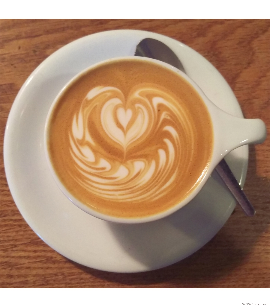 Homeground Coffee + Kitchen in Windermere, where everywhere is close to the station!