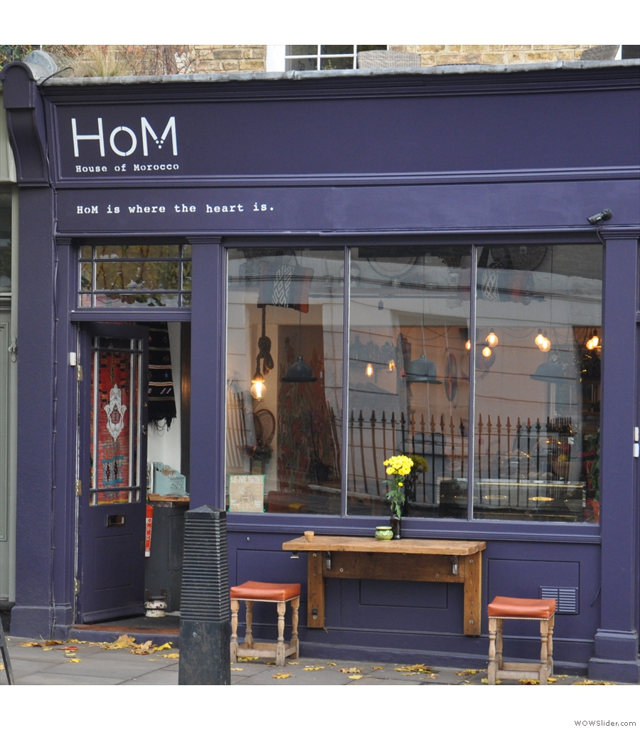House of Morocco on London's Caledonian Road is surprisingly close to King's Cross.