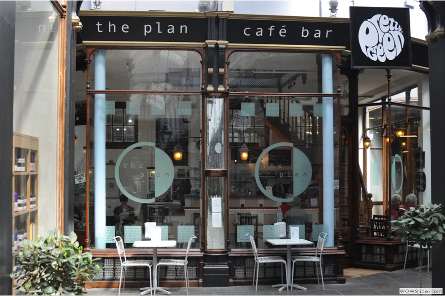 ... and home to the Plan Cafe Bar!