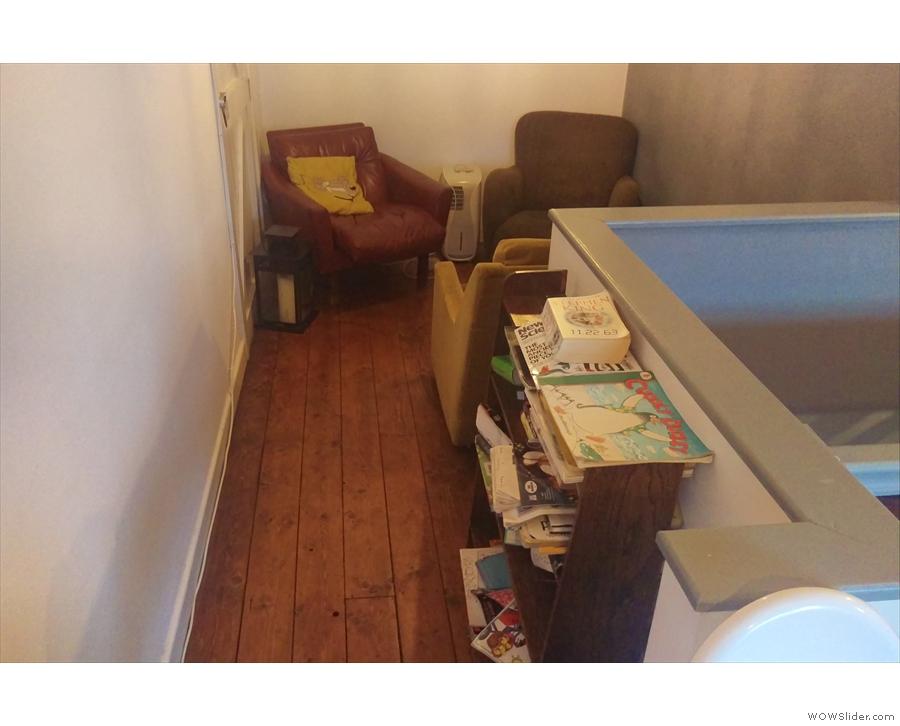 ... where you'll find Providero's cosy corner.