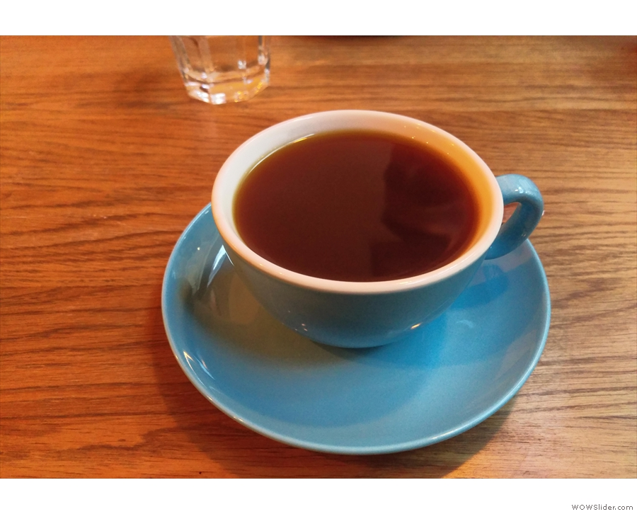 I had this filter coffee, an Aeropress of a Costa Rican roasted by Clifton, in January 2016.