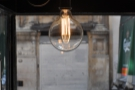 ... and some lovely light-fittings, although some of them are quite low!