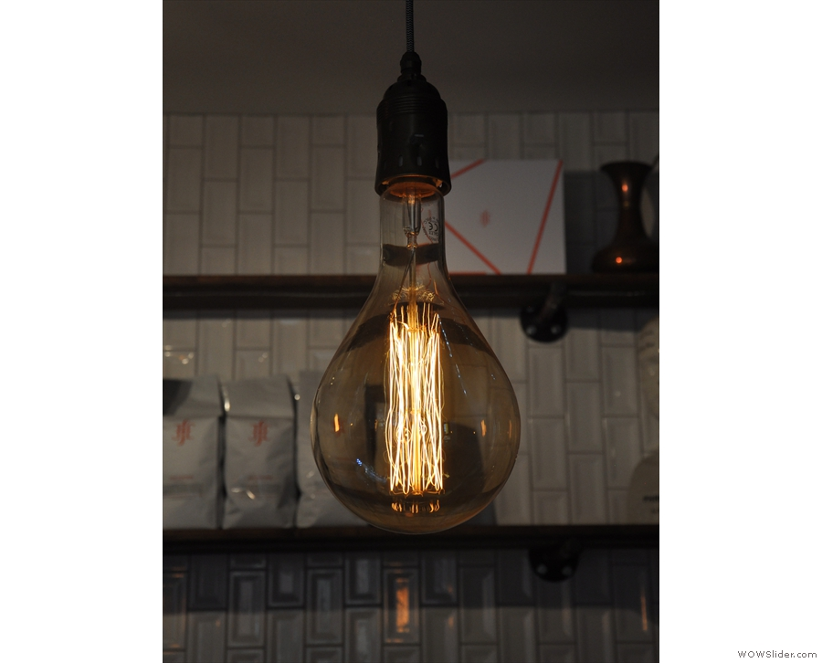 There are fat light bulbs...