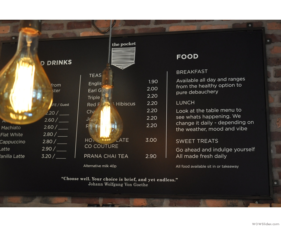... because of the positioning of the light bulbs. They are perfectly easy to read though!