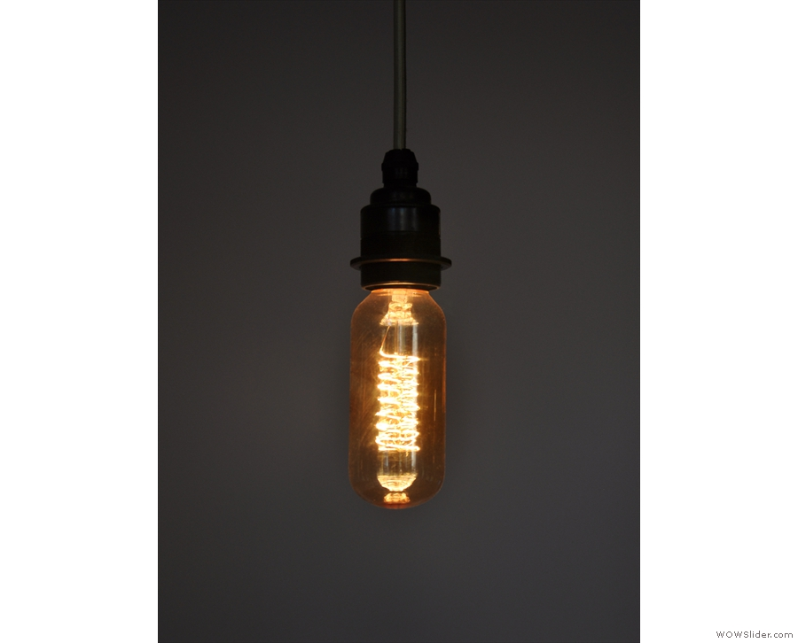 ... and thin light bulbs...