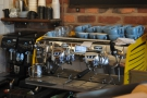 The Pocket has a lovely Black Eagle espresso machine & a couple of Mythos One grinders.