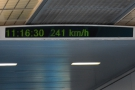 It takes all of 90 seconds to reach 241 km/h...