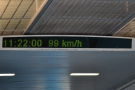 ... and another 35 seconds to drop down to under 100 km/h.