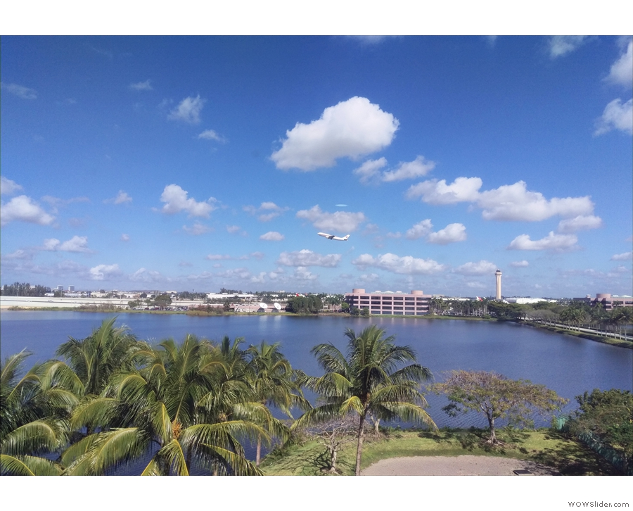 ... and spent my days in an office with views of... Miami Airport!