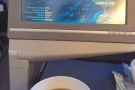 British Airways coffee. Better than the stuff I had with my breakfast in Terminal 3!