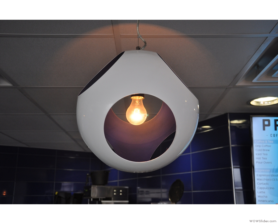 ... as well as some of the most interesting light-fittings I've seen in a while!
