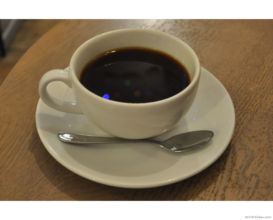 I rounded things off with an Aeropress of the San Fermin from Colombia.