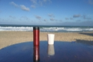 The next day, my Travel Press & Therma Cup were taking the sea air on the Atlantic coast.