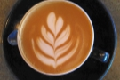 I'll leave you with a closer look at the latte art in my cappuccino.
