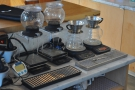 ... the Kalita Wave pour-over filters and the tea brewers.