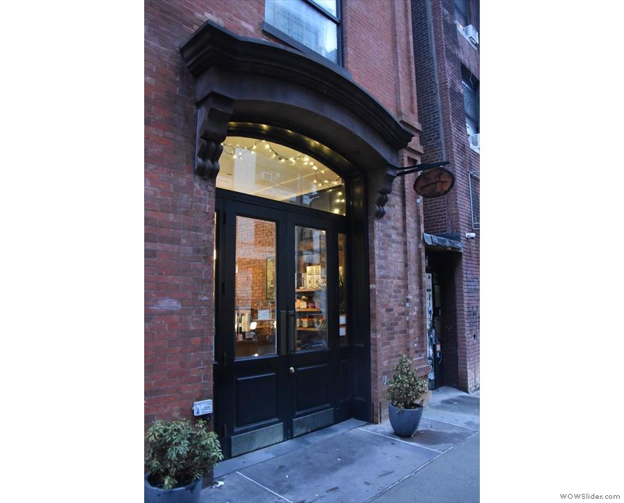 On Mott Street, in New York's Little Italy, stands Cafe Grumpy, hidden in plain sight...