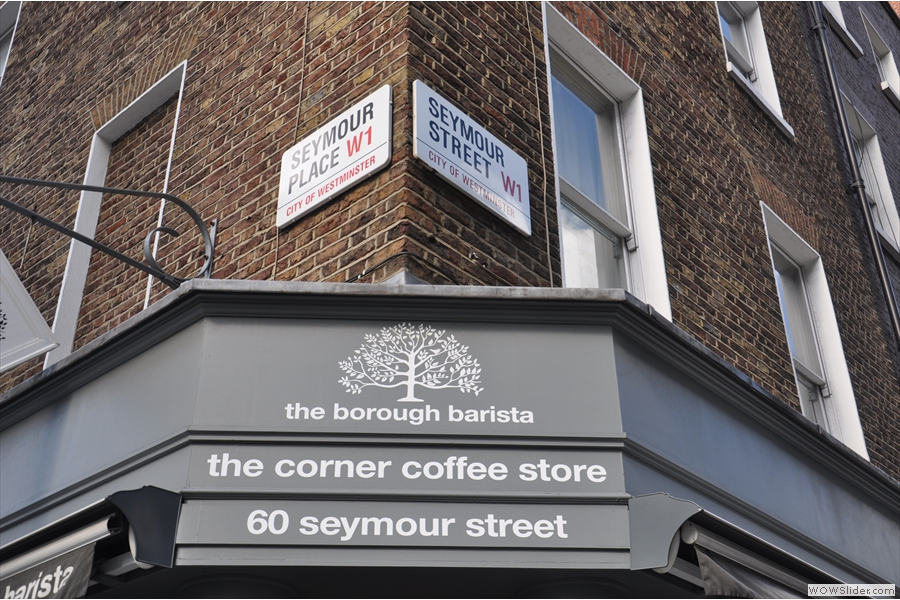 Now, where are we again? Ah, yes, Seymour Corner...