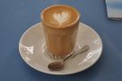 And finally, 'take a picture of our latte art' said one of the baristas. So I did.