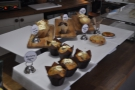 There's also a selection of cupcakes, muffins and cookies. These are not offered toasted...
