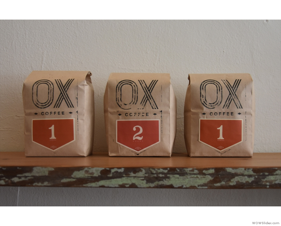 There's a second blend, #2, which can also be used for espresso or filter...