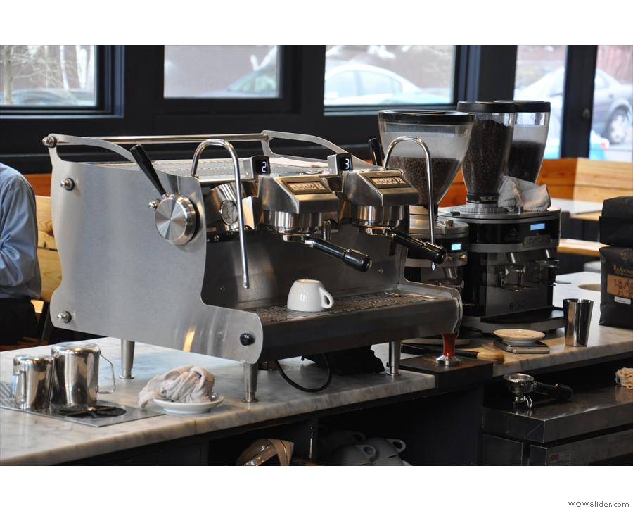 Back then I pressed the Synesso espresso machine into action.