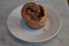 I had my pour-over with a cinnamon pecan bun, the perfect pairing.