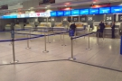 Manchester Airport, T3, and the non-existent check-in/bag drop queues.