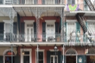 A typical scene in the heart of New Orleans' French Quarter. Or is it?