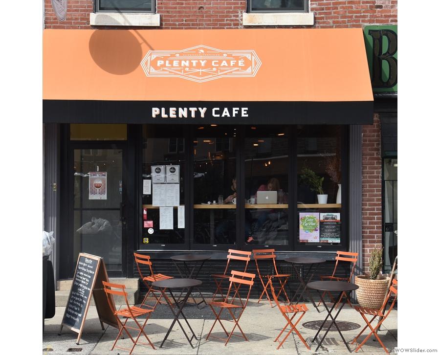 Next stop, the original Plenty Cafe on Passyunk Avenue...